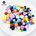 Silicone Diy kit acessórios Diy eco bebê mordedor beads DIY Jóias Pingentes Jóias Chewable Silicone Mordedor