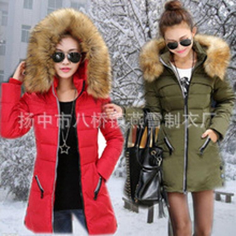 Sıcak 2016 Yeni Marka Moda Kadınlar Kış Aşağı Kapüşonlu Ceket Su Geçirmez Tutmak Sıcak Bayan Kabanlar Kış Ceket Fermuar m-4xl