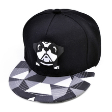 cartoon cute puppy hats Hip Hop Caps with Funny Hats spring summer hip hop boy baseball cap