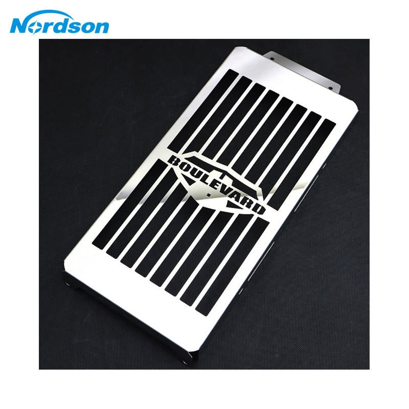 Nordson Motorcycle Radiator Guard Grille Cover Stainless Steel Cooler Protector For Suzuki Boulevard C50 M50 Intruder