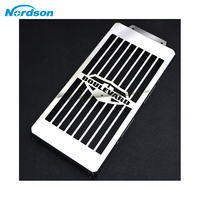 Nordson Motorcycle Radiator Guard Grille Cover Stainless Steel Cooler Protector For Suzuki Boulevard C50 M50 Intruder VL800
