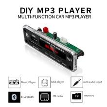 5V 12V Wireless Bluetooth MP3 WMA Decoder Board Audio Module Support USB SD AUX FM Audio Radio Module For Car Accessories