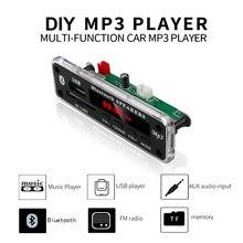 Placa decodificadora MP3 inalámbrica Bluetooth, 5V, 12V, WMA, módulo de Audio compatible con USB, SD, AUX, FM, módulo de Radio de Audio para accesorios de coche