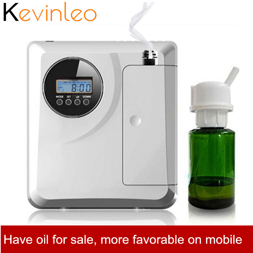 Office Aroma Fragrance Machine 8W 12V 200ml 150m2 Timer Function Scent Unit HVAC For Hotel