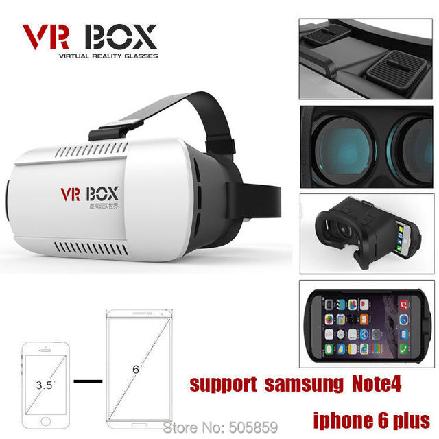 20943805f3d Universal Google Cardboard VR BOX 2 Virtual Reality 3D Glasses Game Movie 3D  Glass For iPhone Android Mobile Phone Cinema