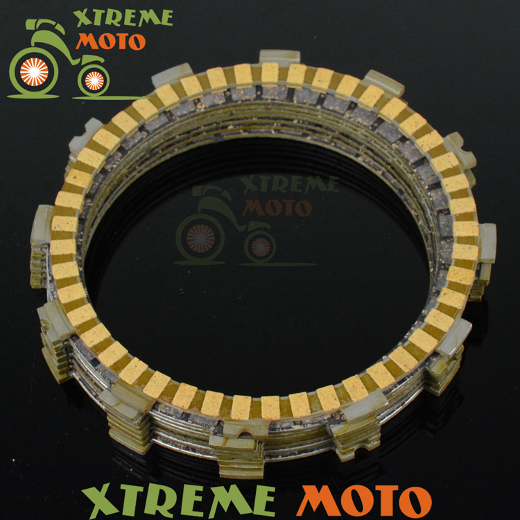 Clutch Plates Disc Set 8pcs For Honda CRF450R CRF 450R 2011-2015 Supermoto Motocross Enduro Motorcycle Dirt Racing Street Bike cnc pivot brake clutch levers for honda crf250r crf450r 07 15 crf motocross enduro supermoto dirt bike racing offroad motorcycle