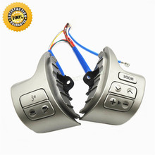 Bluetooth Volante Interruptor de Control de Audio 84250-02200 Para Toyota Corolla ZRE15 2007 ~ 2010