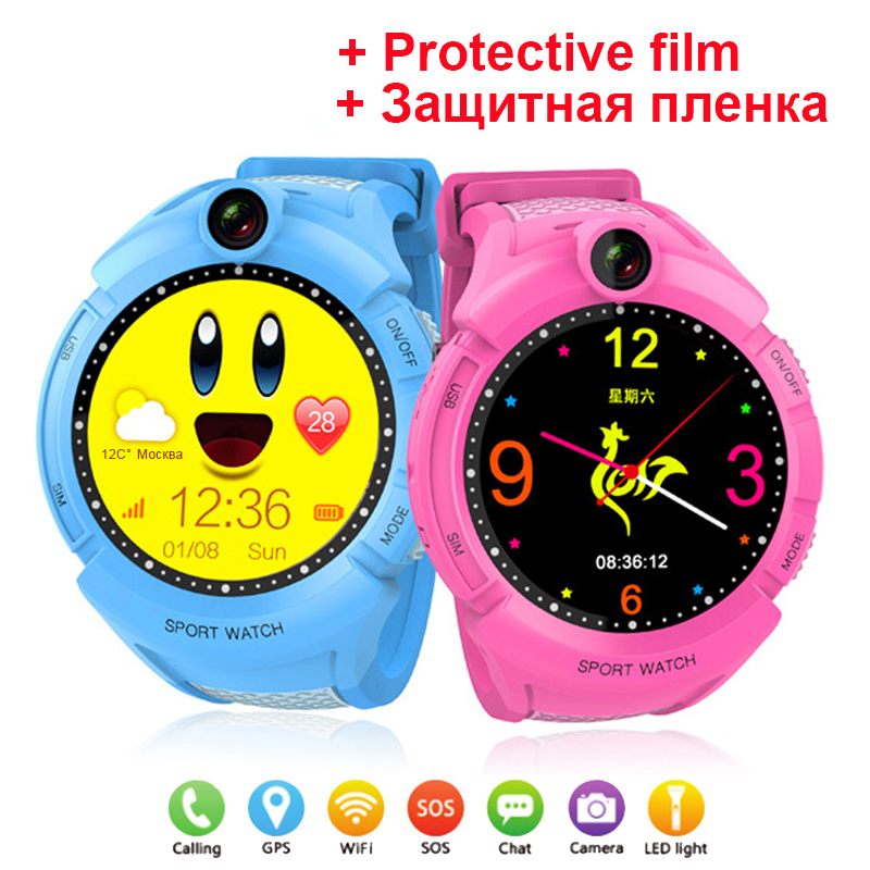 Q360 GPS Phone Positioning Fashion Children Watch 1.4 inch Color Touch Screen WIFI SOS Smart Watch Baby Q100 Q90 Q50 Q60 Find original q50 battery q90 battery or screen protect for q50 q100 q90 baby smart watch q50 q90 q100 children gps watch battery