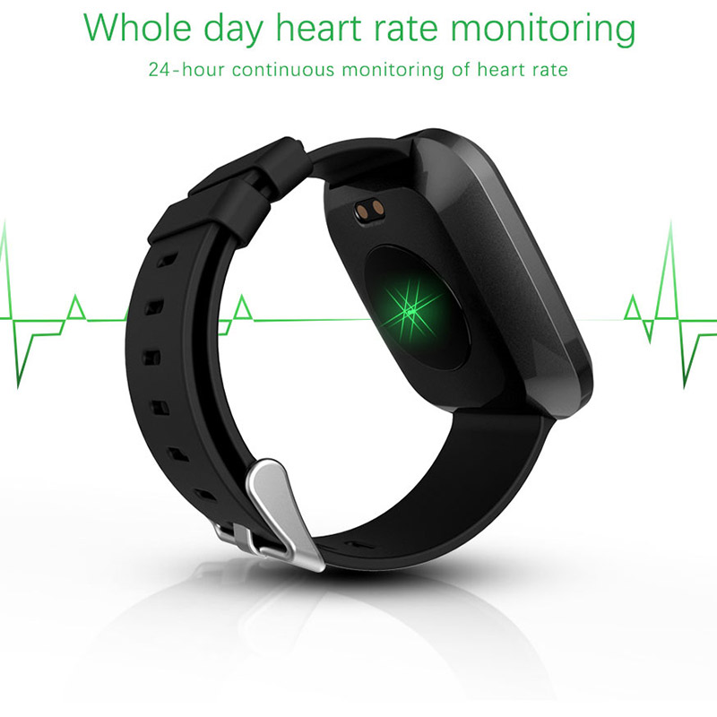 FocuSmart 2019 NEW L18 Smart Watch Fitness Tracker Blood Pressure Heart Rate Monitor Watch Smart Bracelet For IOS/Andriod