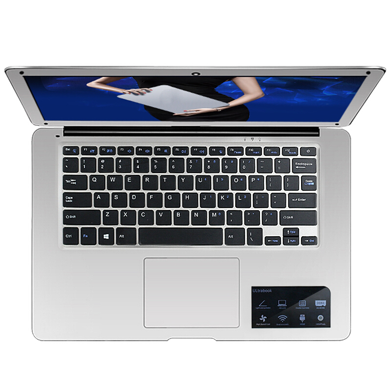 14 inch 4gb 8gb 16gb ram 128gb 256gb ssd gaming netbook ips ultrabook laptop intel core i7-6500U processor computer notebook 14 inch laptop computer 4gb ram