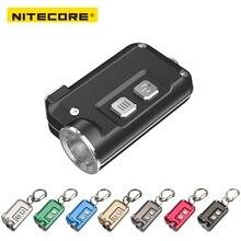 NITECORE TINI USB Rechargeable mini flashlight CREE XP-G2 S3 max.360 lumen mini keychain light for EDC light + Built-in Battery