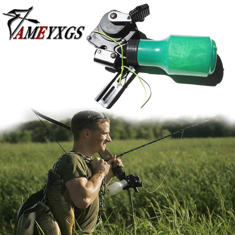 Archery Bow Fishing Products Arrow Reel Spincast Reel Slingshot Recurve Compound Bow Shooting Arrow Hunting Bowfishing Rope dmar archery quiver recurve bow bag arrow holder black high class portable hunting achery accessories