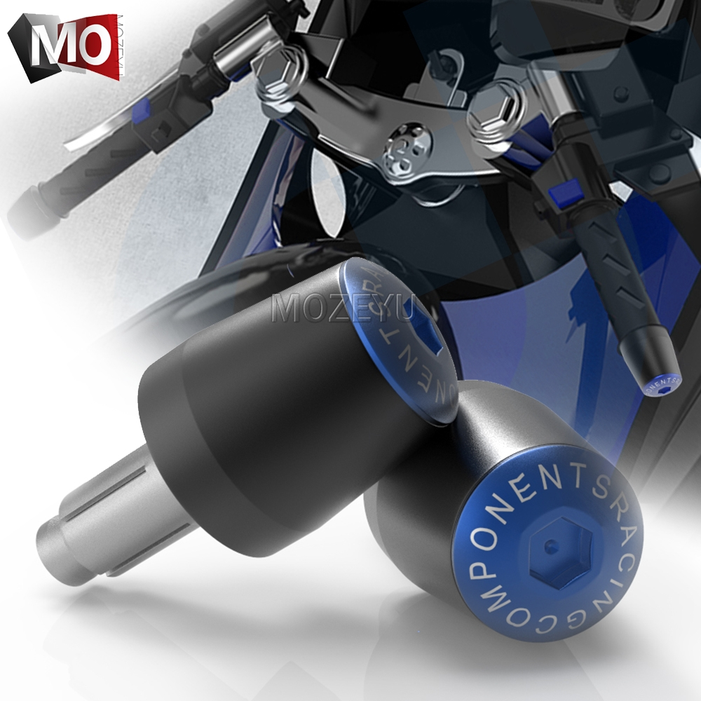 Motorcycle Handlebar Grips End Cap Slider Falling Protector For Honda CBR 1000 600 RR 650F 1100XX CB 650F 500X 1000R 400 190R