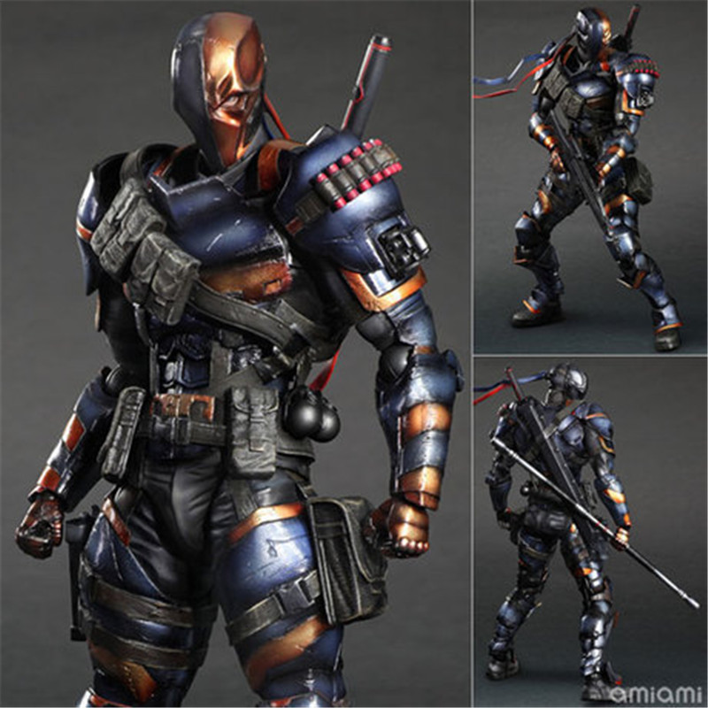 Doll-Model-Collection Deathstroke Deadpool Play Arts Action-Figure Anime PVC Joseph Pvc-27cm
