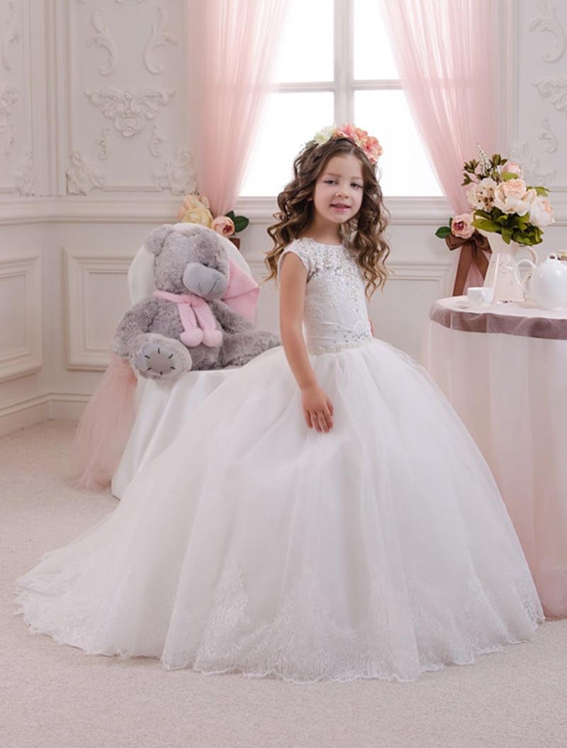 Aliexpress.com : Buy New Arrival Puffy Toddler Ball Gown Abiti Da ...