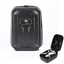 Carbon Fiber DJI Phantom 4 Backpack ABS Hard Shell Outdoor Protective Waterproof Backpack Bag for DJI phantom 4
