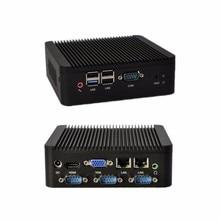 Быстрая мини-пк J1800 мини гостиная PC / мини-htpc главная / промышленный компьютер Celeron — двухъядерный поддержка 1080 P HD видео QOTOM-Q180P