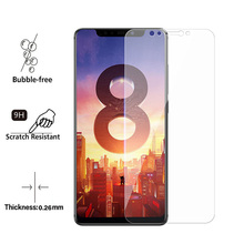 Screen Protector For Xiaomi Mi 8 MI8 liteTempered Glass 2.5D 9H Phone Protective Film SE