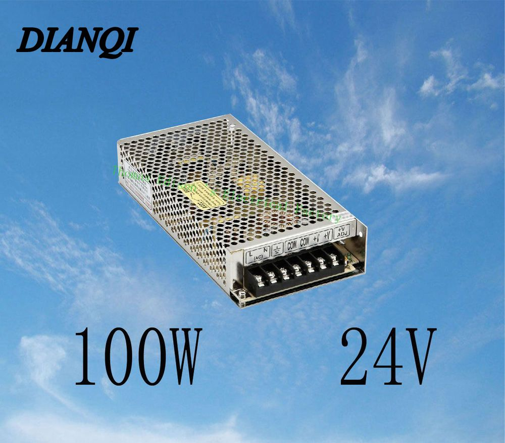 S-100-24 led power supply switch 100W 24v 4.5A power supply unit ac dc converter  24v variable dc voltage regulator dianqi led power supply switch 350w 24v 14 6a ac dc converter s 350w 24v variable dc voltage regulator s 350 24