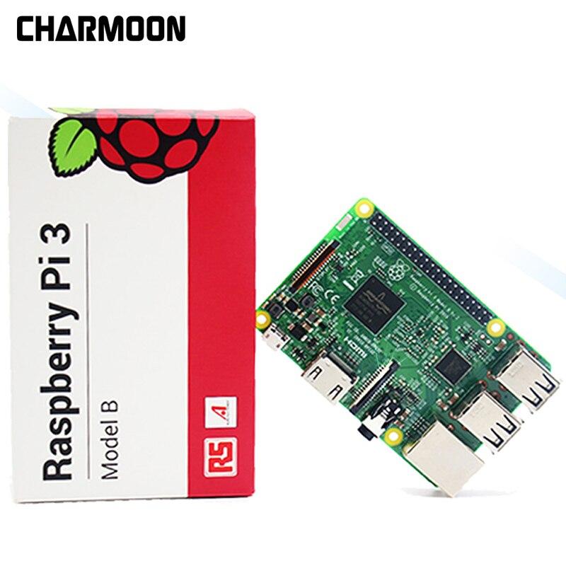 Oringnal Élément 14/RS Démo conseil Raspberry Pi 3 Modèle B + Conseil Raspberry Pi 3 B Plus La Carte Mère avec WiFi et Bluetooth Ensemble
