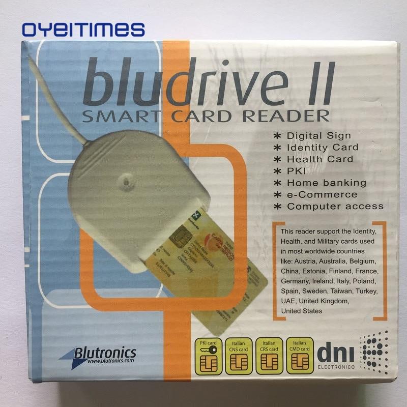Lecteur de carte à puce OYEITIMES Bludrive II lecteur de carte SIM 4G lecteur USB utilisé pour les cartes SIM vierges avec livraison gratuite