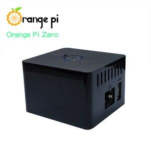 Image 4 - Оранжевый Pi Zero 256MB + плата расширения + черный чехол, мини набор с одной доской