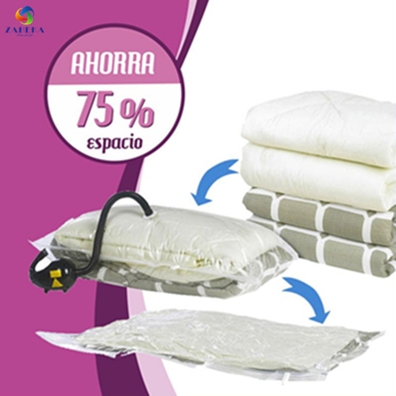 EIEYO Bolsa de vacío de impresión para la ropa Ahorro de espacio - Organización y almacenamiento en la casa