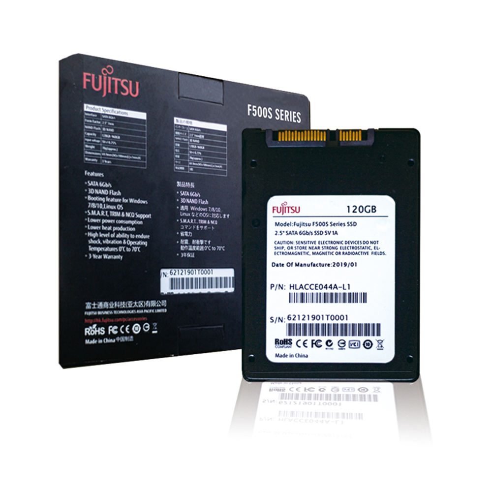 "FUJITSU ssd 1tb 240 gb 480gb 120gb SATA III 2.5"" 3D NAND Flash SMI/Phison/Realtek TLC Solid State Drives for desktop laptop hdd 1"