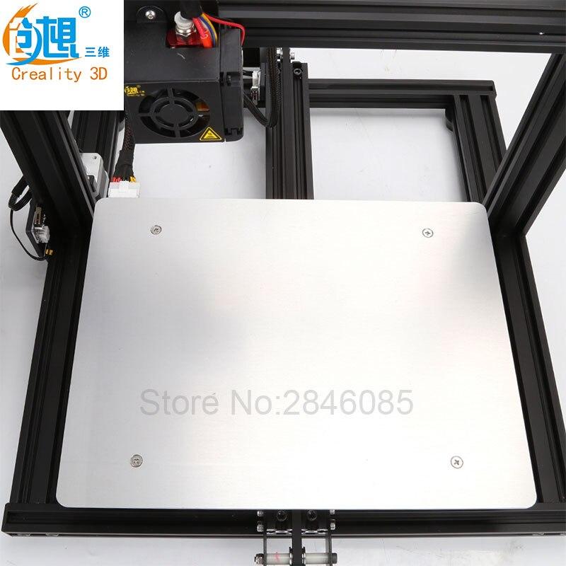Creality 3D Официальный магазин поставка Горячая кровать доска для CREALITY 3d принтер CR-10 мини размер 300*220 мм 3d принтер запчасти