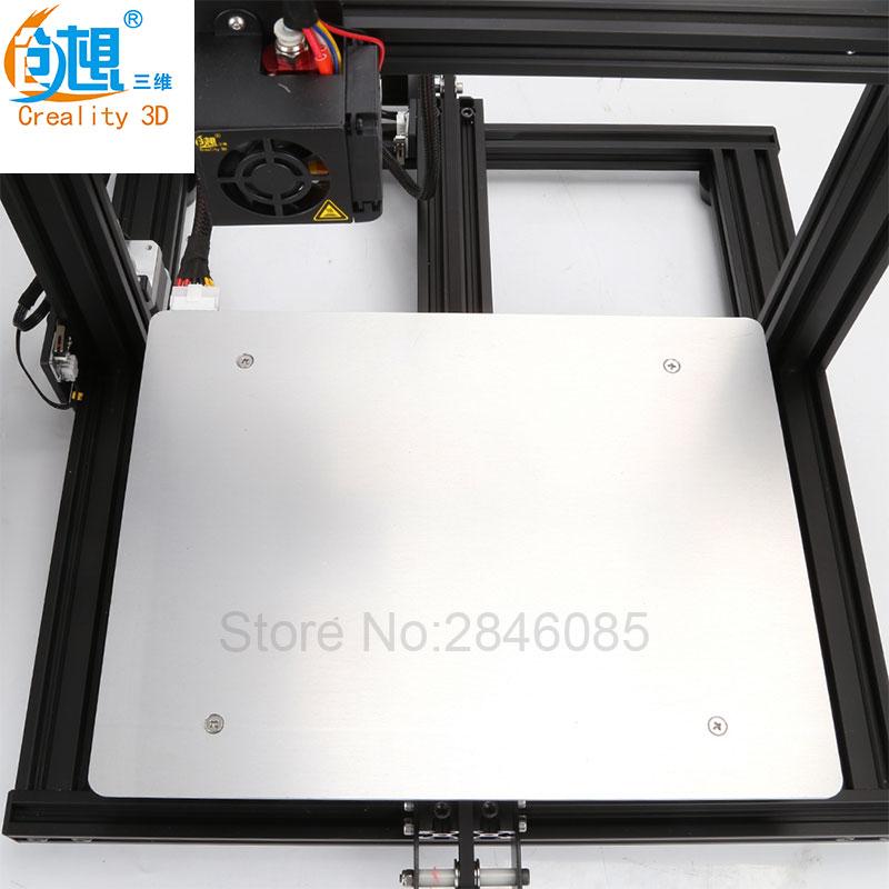 Creality 3D Boutique Officielle Approvisionnement d'eau chaude lit conseil pour CREALITY 3D Imprimante CR-10 Mini Taille 300*220*300mm 3D Imprimante Pièces