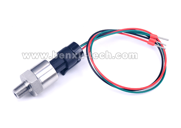0.3m/11.8inch Cable,5-3000psi/-14.5 To 30psi/10bar Import Ceramic Pressure Sensor Transmitter Transducer