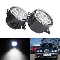 ANGRONG For Ford Transit Mk7 Mk8 2006 18 Front LED Fog Daytime Running Light Lamps White L&R