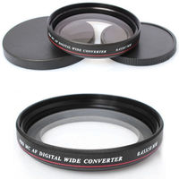 Newest ZOMEI Ultra Slim UV72 52mm 0 45x Wide Angle Filter Lens For Nikon Canon SLR