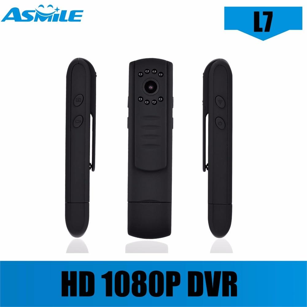 L7 Mini DV HD 1080P 720P Mini Camera Video Voice Recorder lc 08 mini dv headphone 1080p hd sport dv bluetooth headset stereo neck strap video recorder