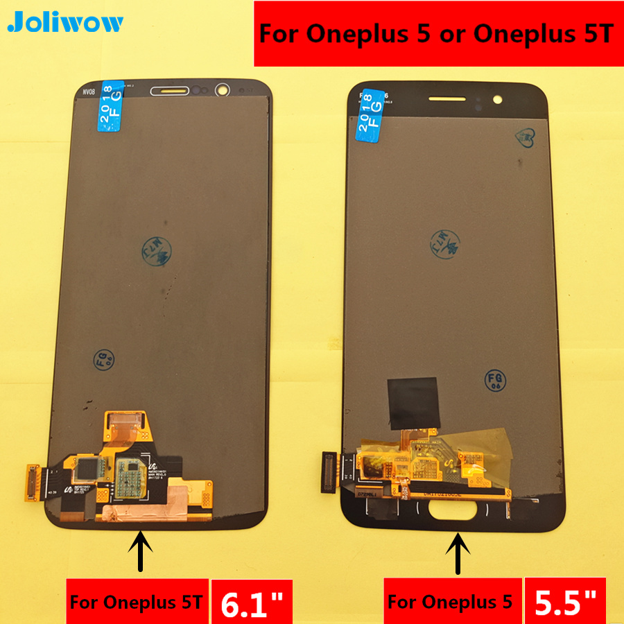 100% Testato PER Oneplus 5 A5000 Oneplus 5 T A5010 Display LCD + Touch Screen Digitizer Assembly di Ricambio Accessori100% Testato PER Oneplus 5 A5000 Oneplus 5 T A5010 Display LCD + Touch Screen Digitizer Assembly di Ricambio Accessori
