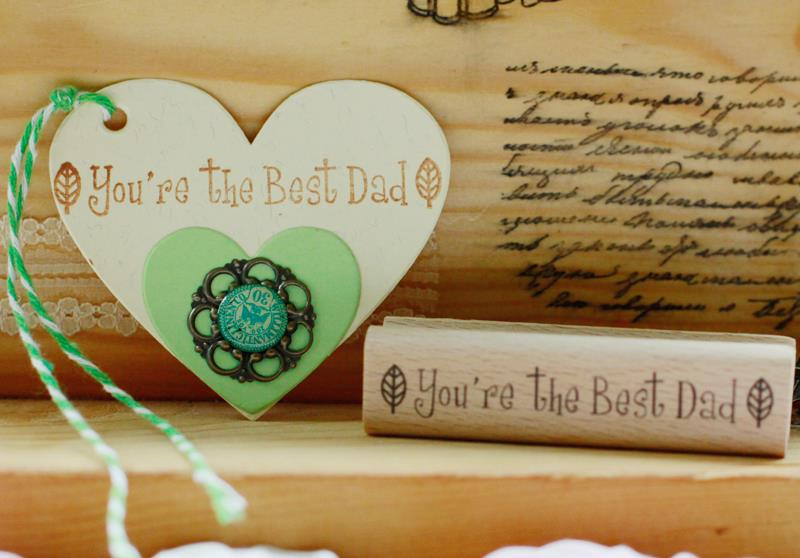 High quality you are the best dad 8*2cm rubber stamp,scrapbooking wooden stamps carimbo For card diy stempel