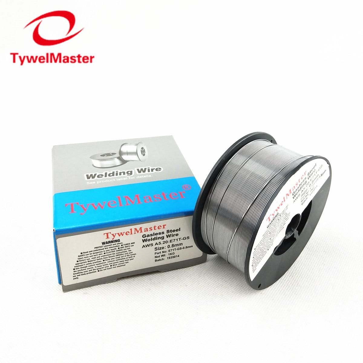 """Gasless Flux Cored Welding Wire E71T-GS 71TGS 0.8mm 0.9mm 0.030"""" 0.035"""" 1kg 2.2lb Mini Spool Carbon Steel Welding Material"""