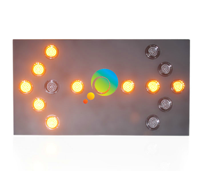 New Design High Quality Waterproof 1200*600mm Aluminum Traffic LED Arrow Board