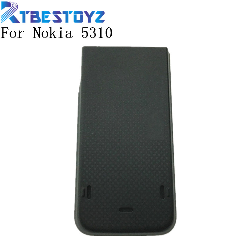 RTBESTOYZ Back Glass Battery Cover For <font><b>Nokia</b></font> <font><b>5310</b></font> Battery Back Door Cover <font><b>Case</b></font> Housing image