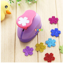 2-2.5cm Sakura shape EVA foam punch paper punch for greeting card handmade ,Scrapbook Handmade puncher free shipping