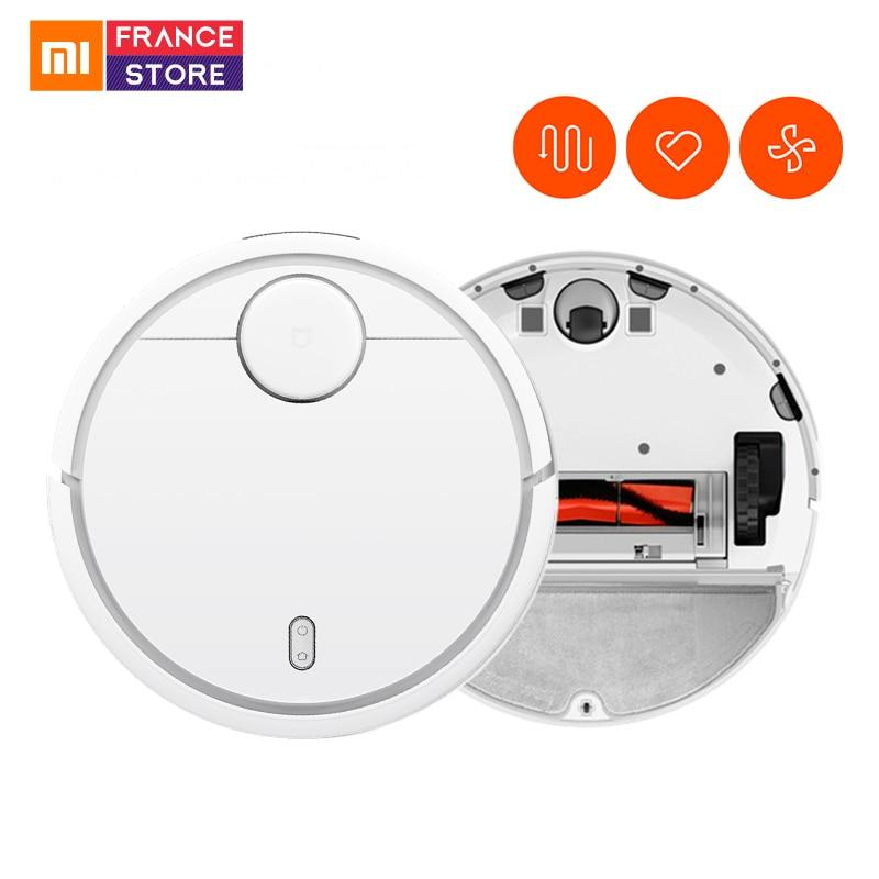 Version mondiale Xiao mi mi Robot aspirateur pour la maison balayage automatique intelligent planifié WIFI APP contrôle Charge poussière nettoyage-in Aspirateurs from Appareils ménagers    1