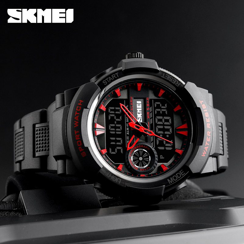 SKMEI Big Dial Military Style Men quartz watch 50m Waterproof Multifunction sport electronic watches Digital erkek kol saati big ass with vagina silicone pussy full silicone artificial vagina japanese sex doll for male masturbator sex toy for man