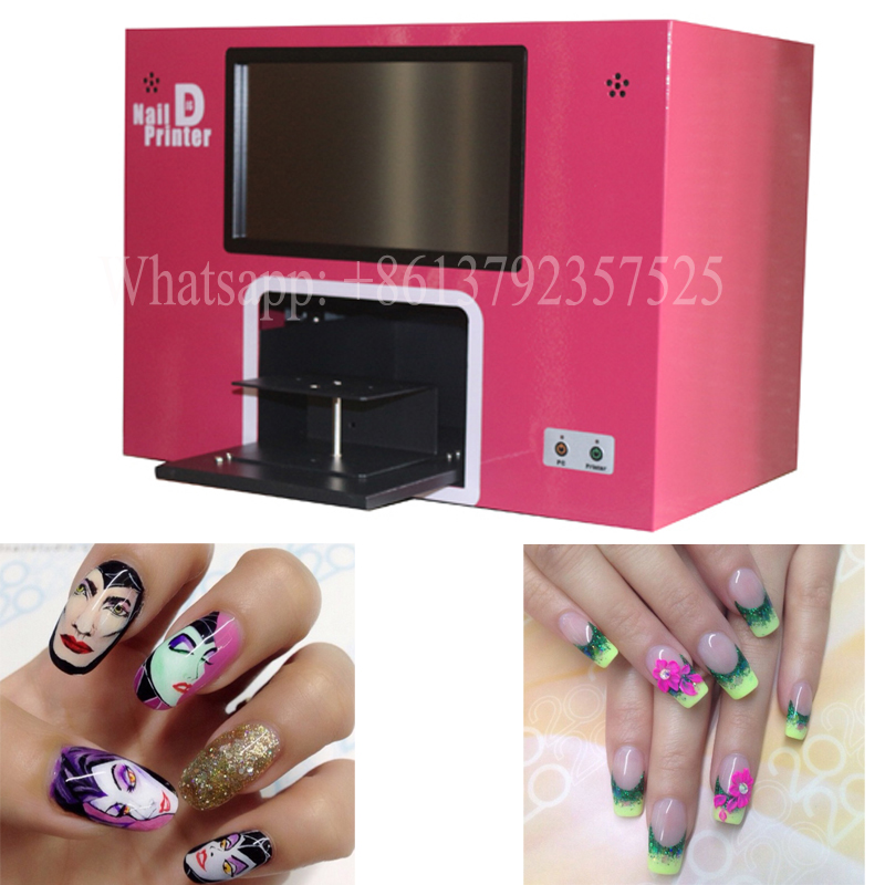 ₩free shipping screen built nail printer machine nail printing ...