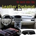 Для Volvo s80 s80l 2012 2013 2014 2015 2016 кожаный Dashmat крышка приборной панели Dash коврик от солнца пользовательский автомобильный Стайлинг LRH + RHD