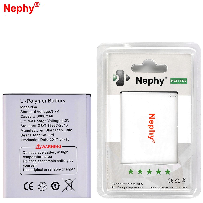 Nephy Originele 2018 Nieuwe Batterij Jy-g4 Voor Jiayu G4 G4c G4t G4s 3000 Mah Real Capaciteit Hoge Kwaliteit Mobiele Telefoon Vervangen Batterijen Speciale Zomerverkoop
