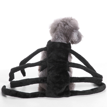 Halloween Pet Dog Costume Clothes Big Spider Costume Clothes For Dogs Chihuahua Clothing Pet Product Clothes For Roupa para 25P1
