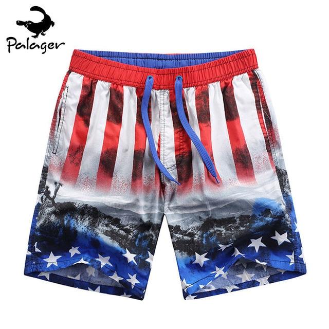 d7ba6a84b9 Palager Board Shorts Men American Flag Shorts Stars and Stripes Beach Shorts  Men July 4th USA Holidays Party Wear XXXL 2359-755