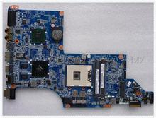 45 days Warranty For hp DV7-4000 614535-001 laptop Motherboard for intel cpu with 4 video chips non-integrated graphics card