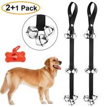 "2 Pack Dog DoorBell for Potty Training Door Bell Ring Bells Adjustable Great Housebreaking 7 Extra Large Loud 1.4"""