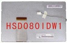 Оригинал 8 жк-экран hsd080idw1 c00 c01 портативный dvd автомобильный dvd экран